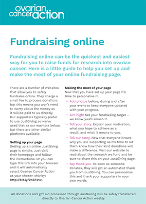 Guide to fundraising online